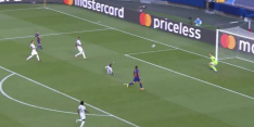 Video: Alaba helpt Barcelona terug in duel met knullige eigen goal
