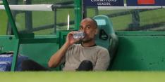 """Guardiola wil van excuses niets weten: """"We speelden niet perfect"""""""