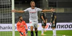 Luuk de Jong schiet Sevilla naar finale Europa League