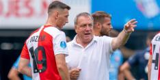 Viertal Feyenoorders niet op trainingskamp vanwege coronageval