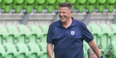 Proefspeler Maria onderuit in oefenduel PEC Zwolle met VVCS