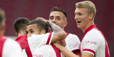 Ajax wint opnieuw, maar schrikt van uitvallen Blind