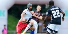 Feyenoord lijdt nipte nederlaag tegen sterk HSV