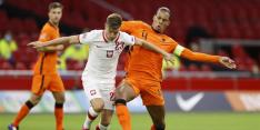 Van Dijk tevreden met 'professionele overwinning' Oranje