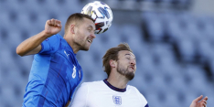 Engeland heeft in slotfase dubbel geluk tegen IJsland