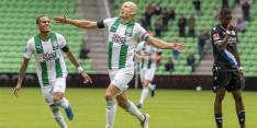 FC Groningen speelt dankzij goal Robben gelijk tegen Bielefeld