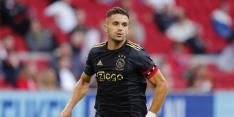 'Ajax start opnieuw met Tadic in de punt, middenveld ongewijzigd'