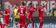 Simpele zege voor FC Twente tegen uiterst pover Fortuna
