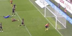 Video: Krankzinnige misser in de Belgische competitie