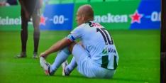Video: Robben valt na een half uur geblesseerd uit tegen PSV