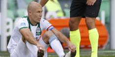 Robben ontbreekt bij Groningen door 'lichte klachten'