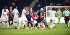 Spelers PSG en Marseille zwaar beboet voor knokpartij