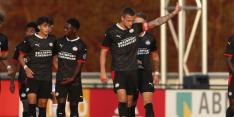 Jong PSV pakt in slotseconden een punt tegen Helmond Sport