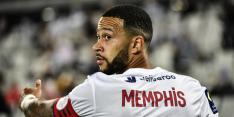 Memphis kan als invaller domper Lyon niet voorkomen