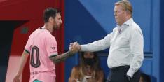 Koeman geeft Messi opnieuw rust in Champions League