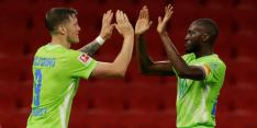 Weghorst wijst Wolfsburg de weg, Ieren verrassen AC Milan niet