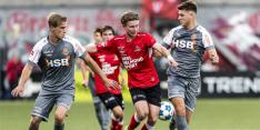 FC Volendam uiterst moeizaam naar de eerste zege, goal De Rooij