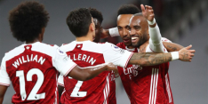 Arsenal pakt in slotfase volle buit in derby tegen West Ham
