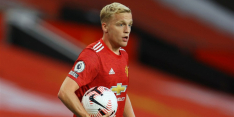 Van de Beek, Frenkie en Luuk de Jong in basis, Dest op bank