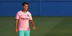 Koeman kan voorlopig geen beroep doen op Coutinho