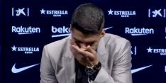 Suárez schiet vol tijdens emotioneel afscheid bij FC Barcelona