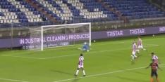 Video: blunder keeper Ruiter brengt Willem II in grote problemen
