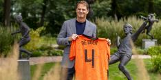 """De Boer: """"Van Gaal dacht dat ik een goede bondscoach zou zijn"""""""