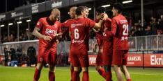 Almere City koploper na zege, eerste winst FC Dordrecht