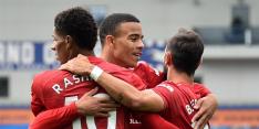 United ontsnapt na knotsgek einde aan puntenverlies