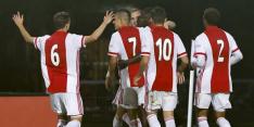 Jong Ajax zet weg omhoog in en verslaat ook Excelsior