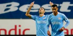 PSV zonder Götze, Malen op de bank en Zahavi terug