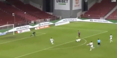 Video: ongelofelijke comedy capers-goal in Europa League