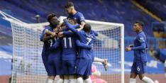 Chelsea loopt na rust weg en wint met royale cijfers van Palace