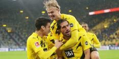 Winst Borussia's in Bundesliga, Bosz speelt gelijk met Leverkusen