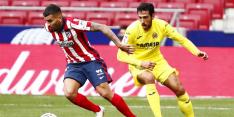 Atlético komt ook tegen Villarreal niet tot scoren
