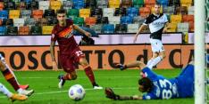 Roma pakt met invaller Kluivert eerste driepunter van het seizoen