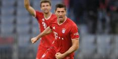 Bayern zwijnt na bizar slot en vier goals van Lewandowski