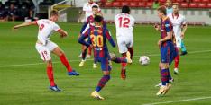 De Jong beloont Sevilla met punt bij slordig Barcelona