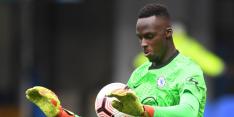 Chelsea krijgt nieuwe doelman Mendy geblesseerd terug