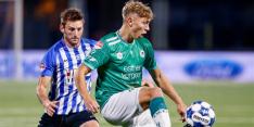 Tiental Excelsior komt niet verder dan gelijkspel tegen Eindhoven