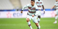 Ronaldo test positief op coronavirus en haakt af bij Portugal