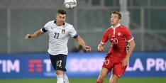 El Shaarawy test positief; Italië - Nederland gaat vooralsnog door