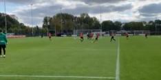 Video: Robben lijkt fit en scoort prachtgoal tijdens training