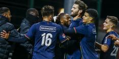 NEC voorbij 'rood' Jong FC Utrecht, Jong Ajax verslaat Jong AZ