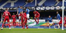 Veerkrachtig Everton pakt punt in burenruzie tegen Liverpool