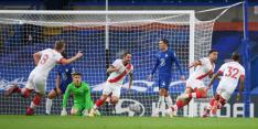 Doelpunt in extremis verpest Premier League-debuut Ziyech