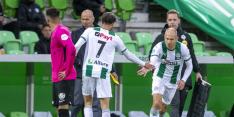 Domper voor FC Groningen: Robben dit jaar niet meer in actie