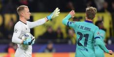 'De Jong en Ter Stegen staan achter inleveren salaris, Messi niet'
