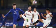 Chelsea blijft aanmodderen en wint niet van Sevilla