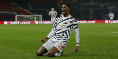 Manchester United dompelt PSG in de slotfase in rouw